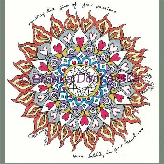 Image of Passion Mandala