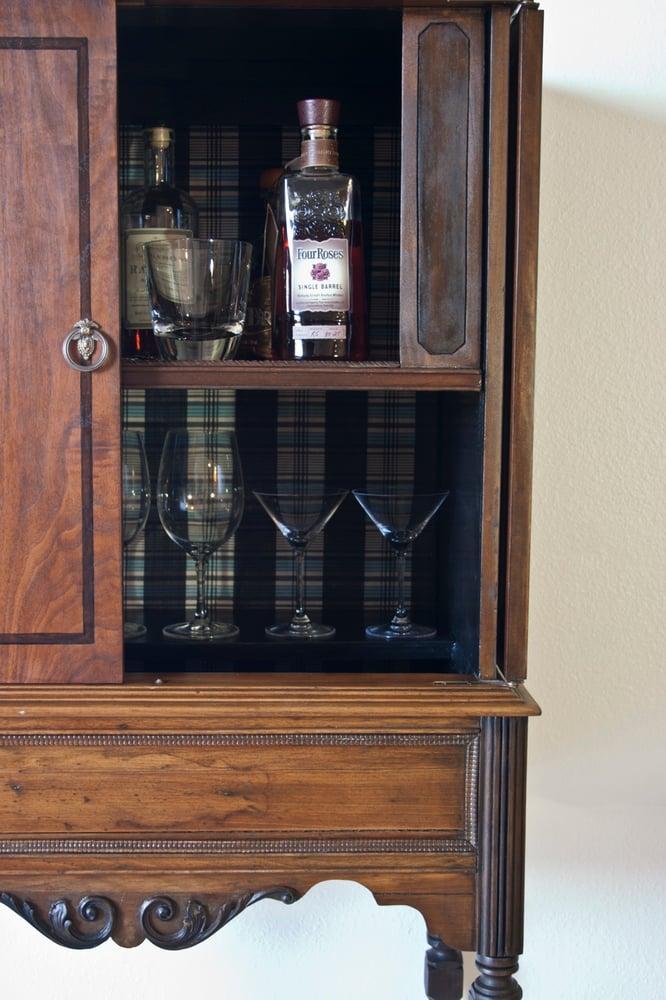Antique Liquor Cabinet Dominique Provost