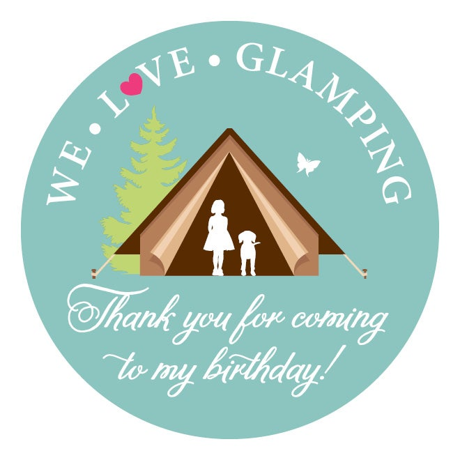 Glamping Invitation