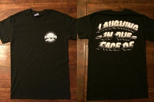 Image of Black T-Shirts with front + back print 2014
