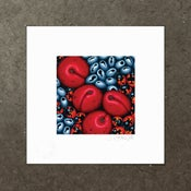 Image of Various Rainforest Fruits - Art Print
