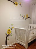 Gumnut Babies - Wattle Babies on Branches Wall Decals