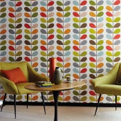 Image of Harlequin Multi Stem wallpaper - peel and stick