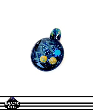 Image of Joe Whitten Galaxy Space Pendant 1