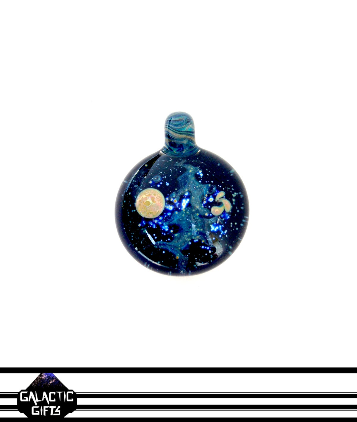 Image of Joe Whitten Galaxy Space Pendant 2
