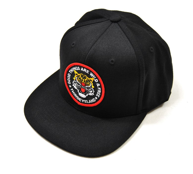 Image of TIGER SNAPBACK CAP-HIGH QUALITY