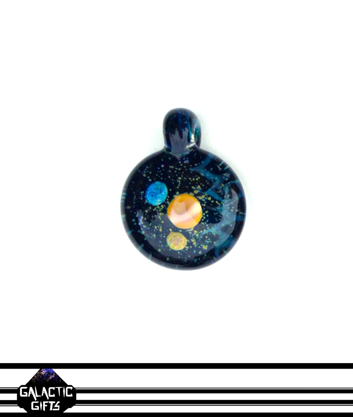 Image of Joe Whitten Galaxy Space Pendant 3