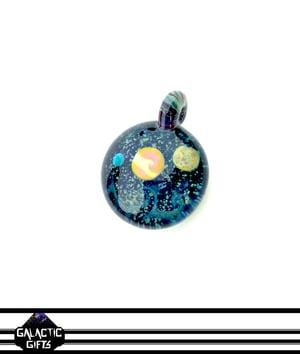 Image of Joe Whitten Galaxy Space Pendant 5