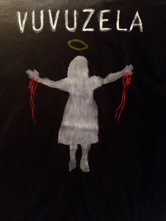 Image of Handmade VUVUZELA (Girl with Stigmata) Tee's