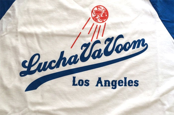 Image of Lucha VaVoom 3/4 sleeve raglan top