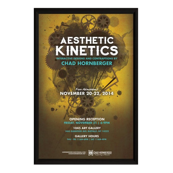 Image of Aesthetic Kinetics Exhibition Poster