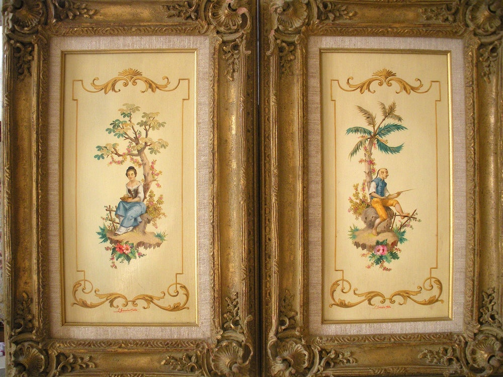 Image of Italian Oil Paintings