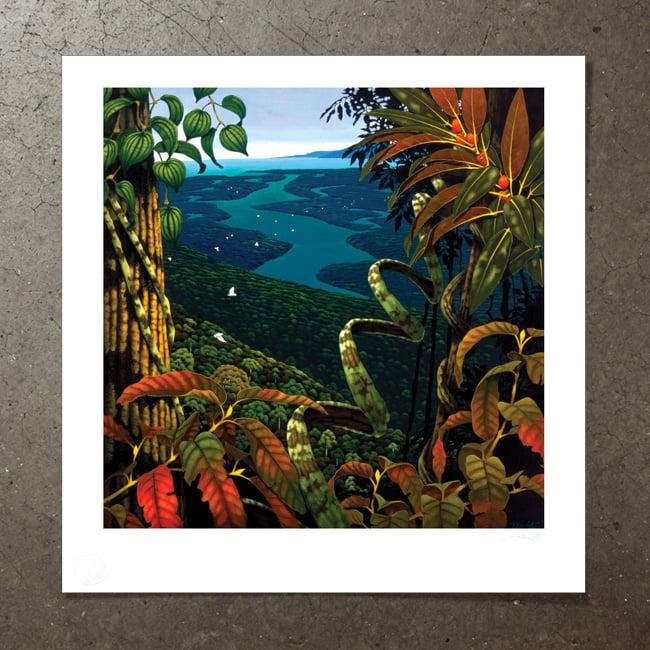 Image of Rivers of Jade - Art Print