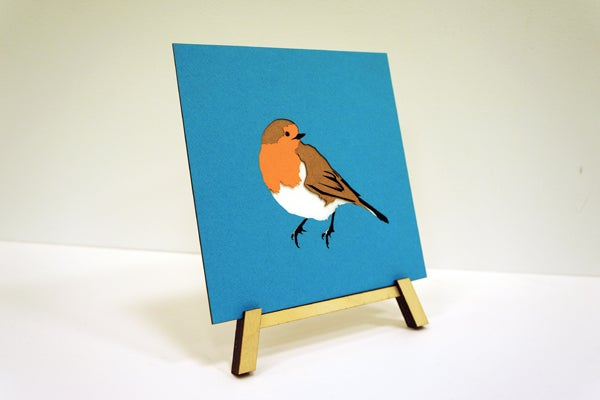 Image of Paper Robin Poster