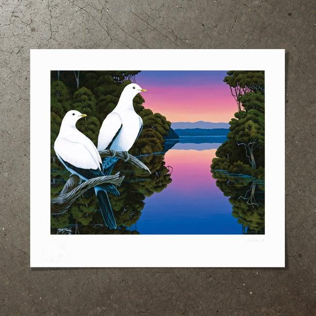 Image of Torres Strait Pigeons - Art Print