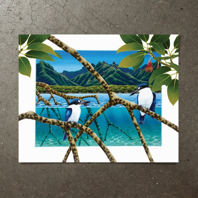 Image of Mingle in the Mangroves - Art Print