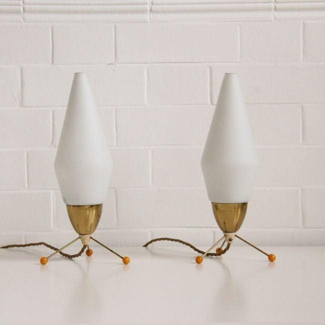 Image of Atomic Era bedside lights