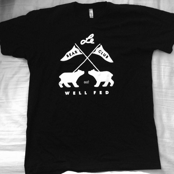 Image of BEAR CLUB x WELL FED ARTIST SOCIETY Shirt (Black)