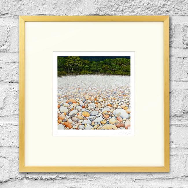 Image of Pebble Beach - Framed Print