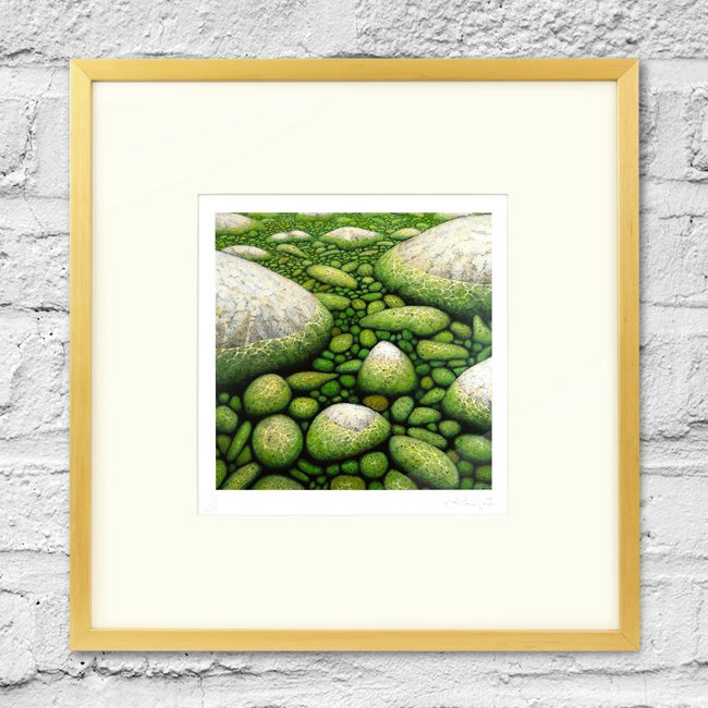 Image of Water and Stone - Framed Print