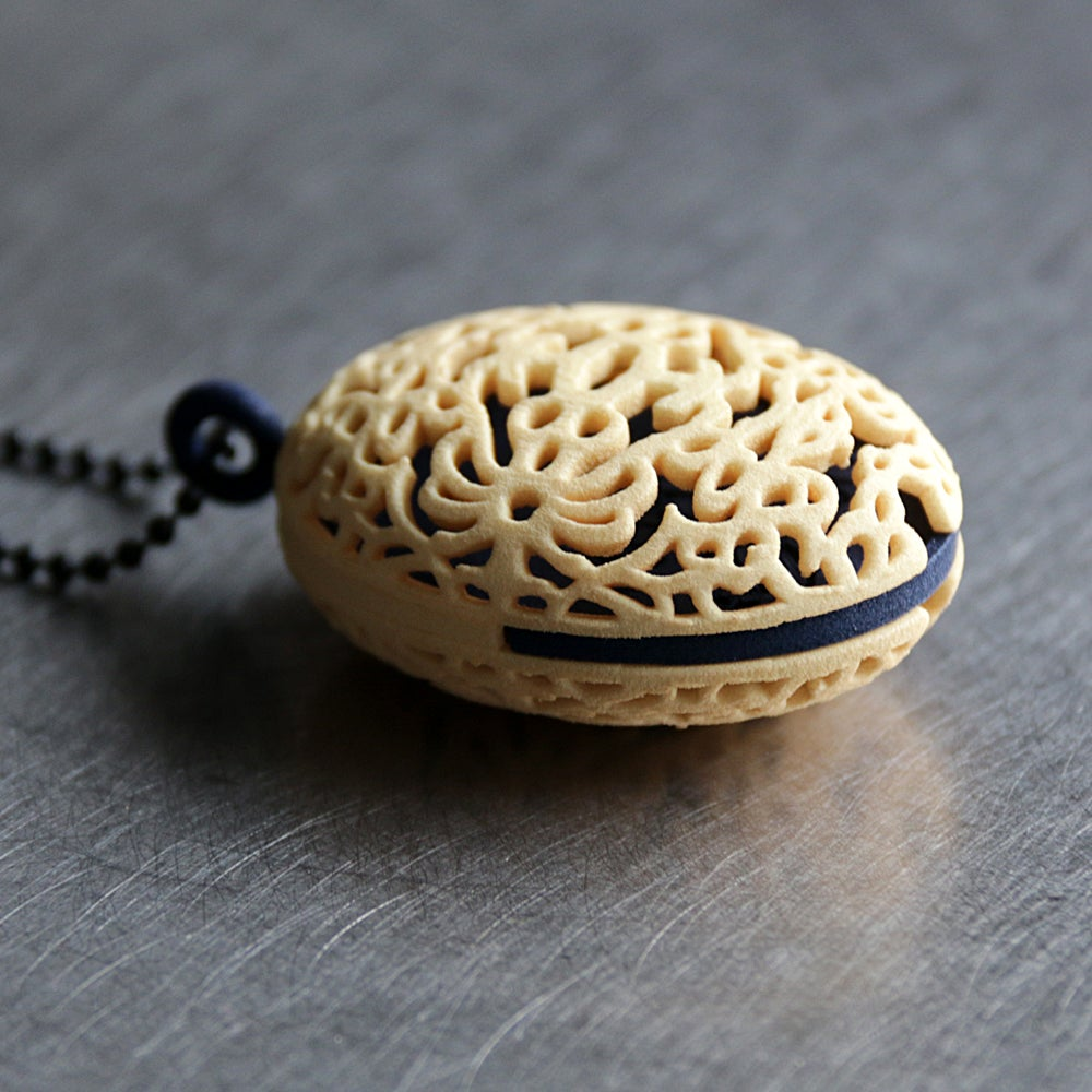 Image of 3D printed locket KOESTEREN FLORAL