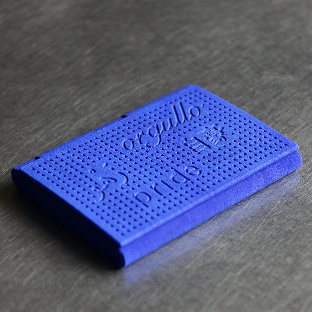 Image of 3D printed cardholder myKEES PRIDE