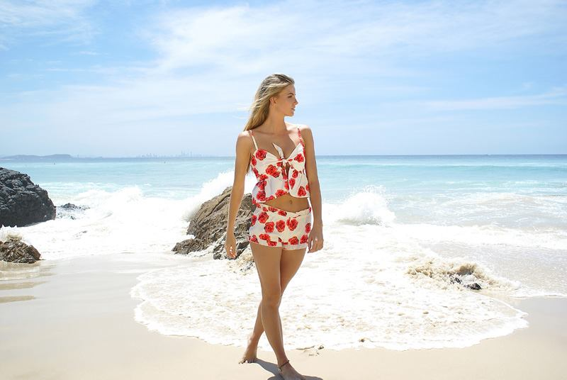 Image of Cabo Vacay Set - Top & Shorts