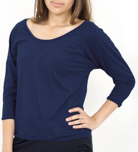 Image of Jump in Pulli/ Raglan Top - navy tiefblau