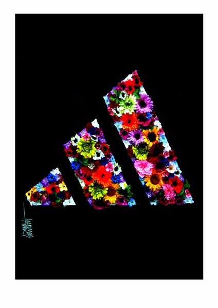 Image of Adidas Three Stripes (Limited Edition Print)