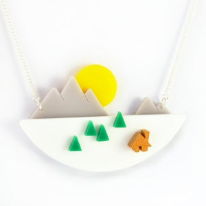 Image of Mountain Sunset Necklace