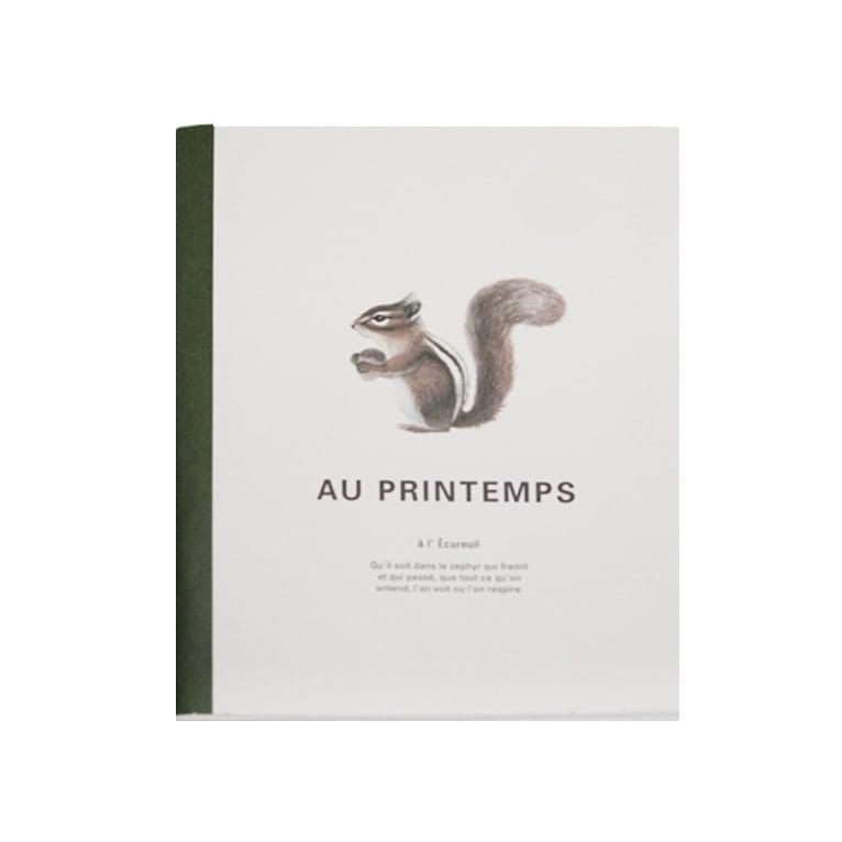 Image of Medium Notebook - Squirrel