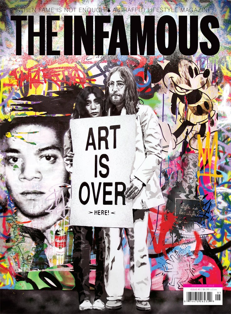 Image of Issue #5 – MR. BRAINWASH cover