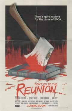 Image of Don't Go to the Reunion DVD