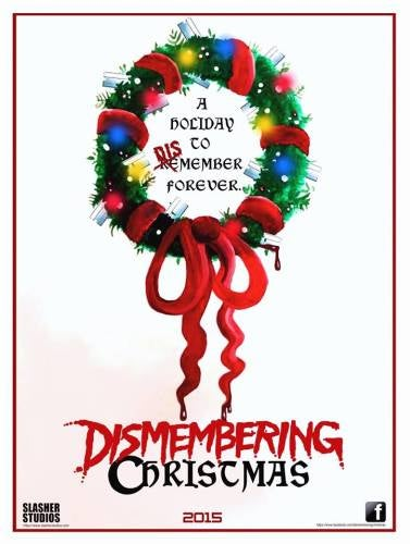 Image of Dismembering Christmas Poster (Wreath)