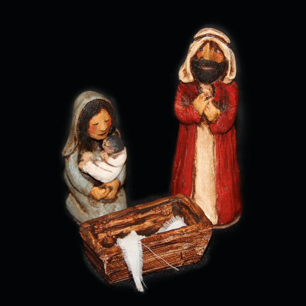 Image of NATIVITY - Painted