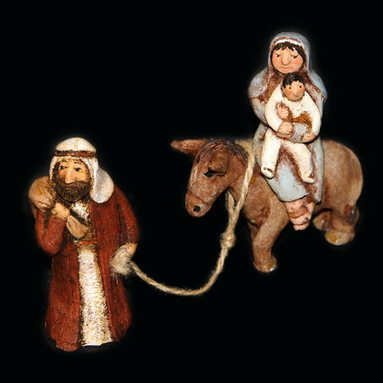Image of FLIGHT INTO EGYPT - Painted