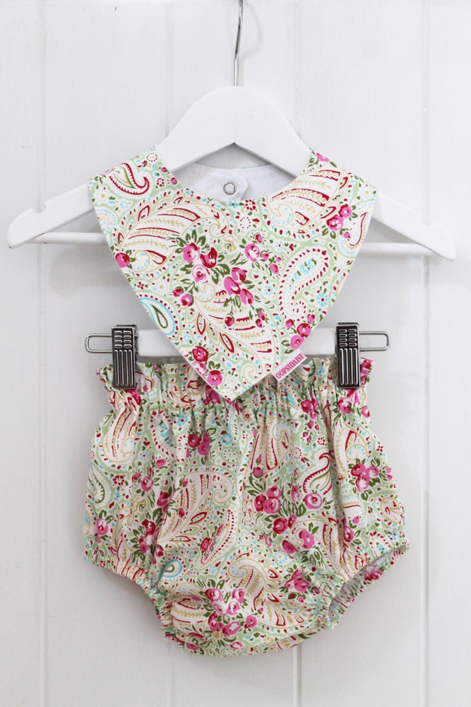 Image of Paisley Rose Baby Set