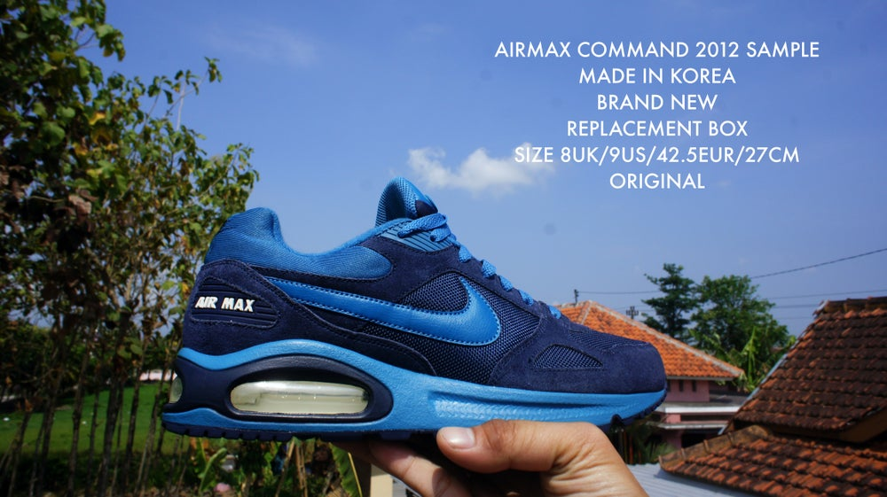 sports shoes 9026f 6fbb6 NIKE AIRMAX COMMAND BLUE 2012 SAMPLE / Rosse Shoes