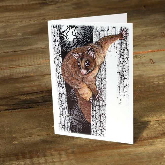 Image of Coppery Brushtail Possum - Gift Card