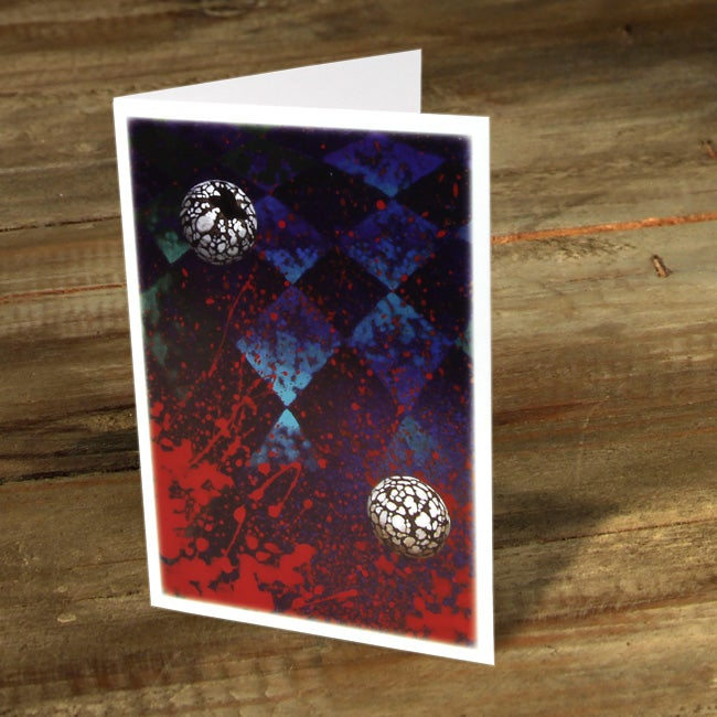 Image of Candle Nuts in Space - Gift Card