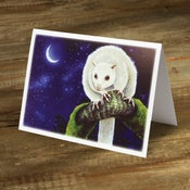 Image of White Lemuroid Possum - Gift Card