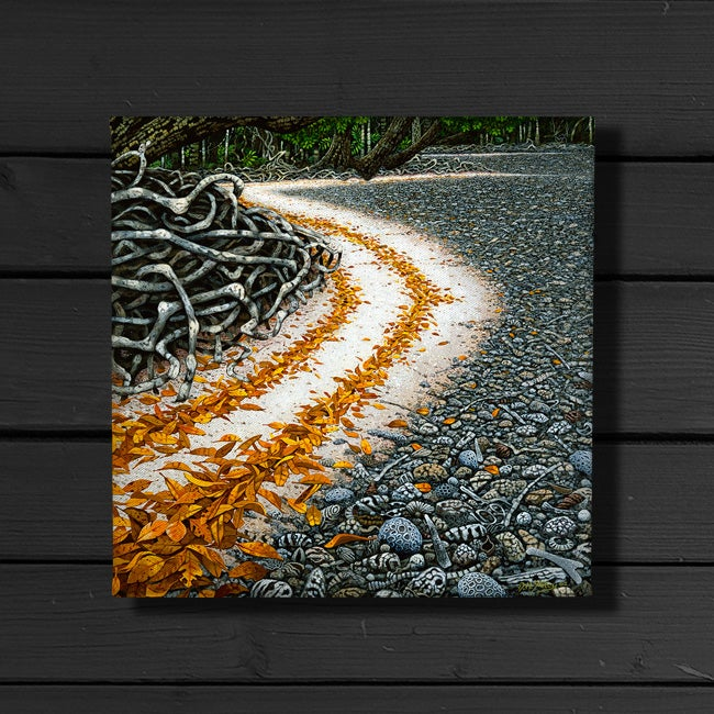 Image of Calophyllum Tide - Canvas Print