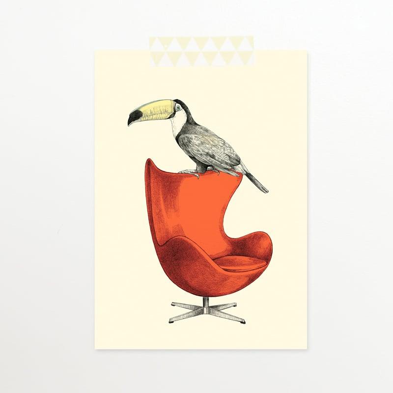 Image of Carte postale simple Toucan