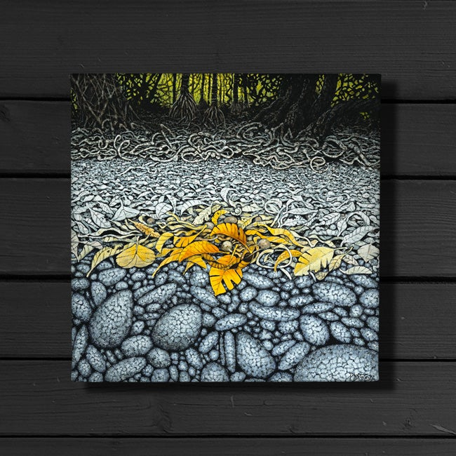 Image of Low Tide - Canvas Print