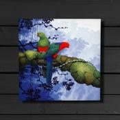 Image of King Parrots - Canvas Print