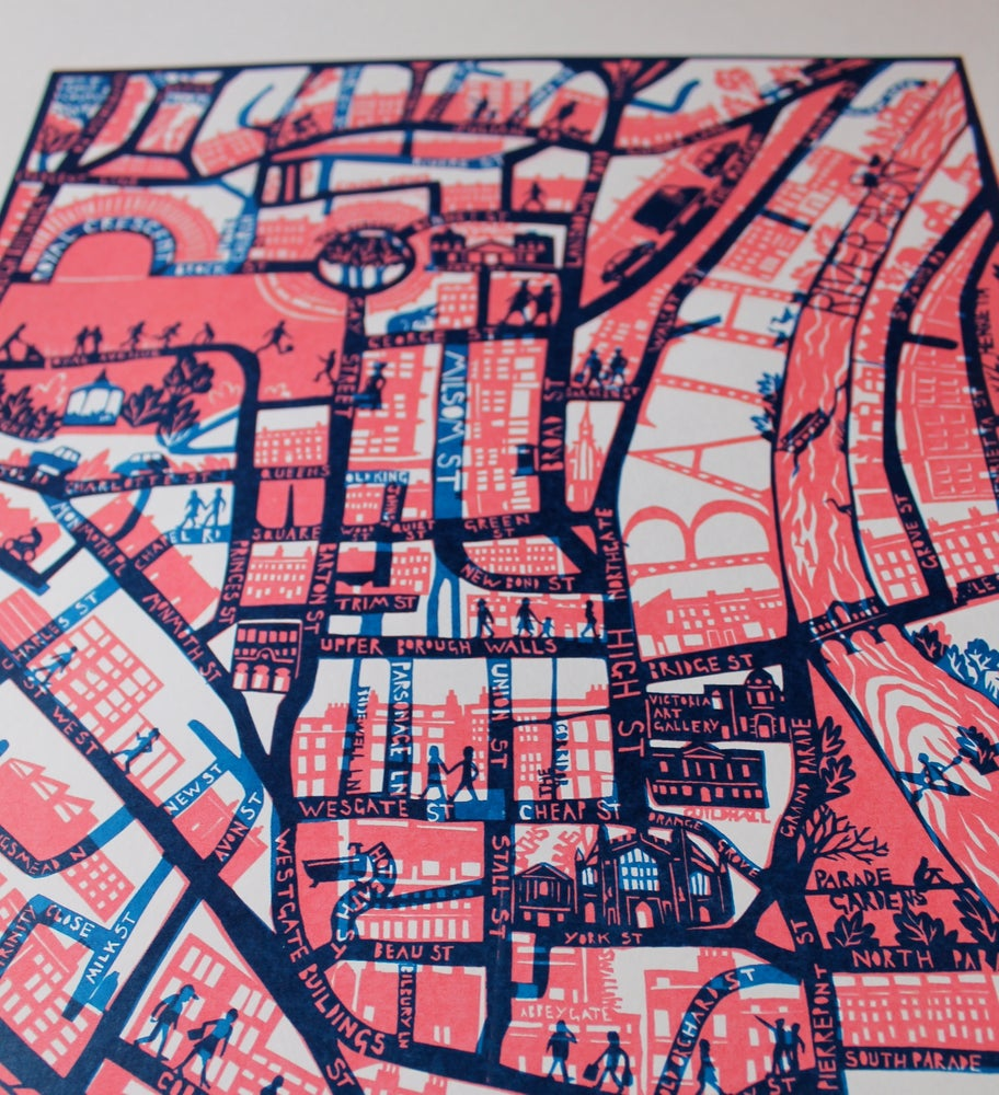 Image of City of Bath Print