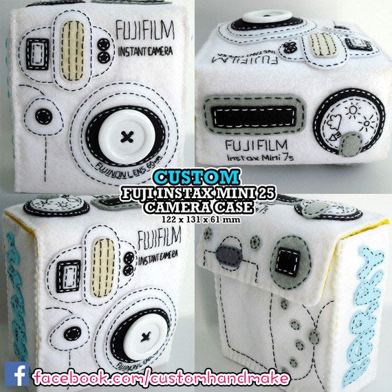 Image of Custom Fujifilm instax mini or polaroid camera case