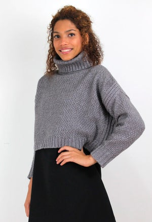 Image of LÚREX CROPPED PULLOVER