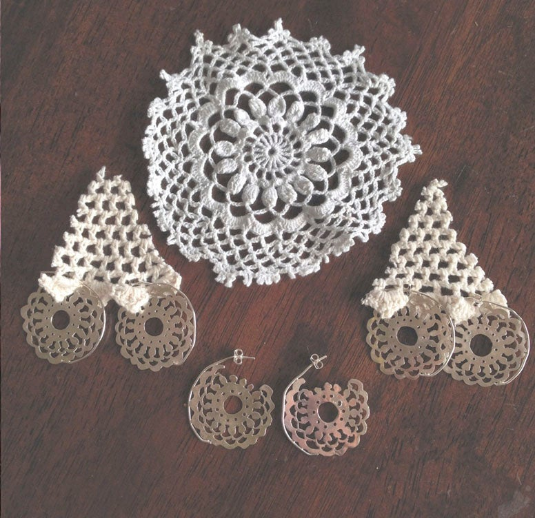 Image of DOILY EARRLINGS