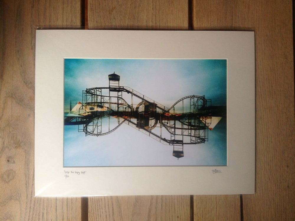 "Image of ""loop the loopy loop"" limited edition print"
